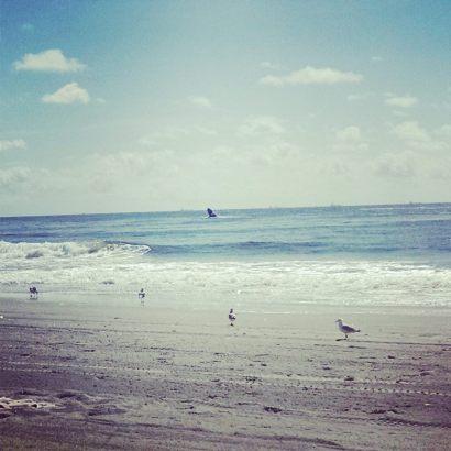 Rockaway Beach via the author
