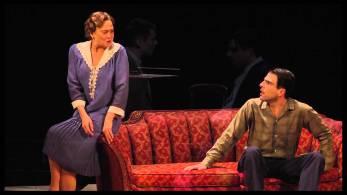 Theater: Cherry Jones as Amanda Wingfield with Zachary Quinto as Tom Wingfield