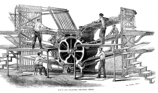Printing Press 6 Cyl
