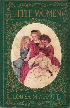 little-women-book green